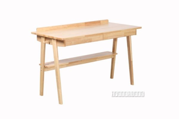 Windsor 2Drw Writing Desk *Rubber Wood