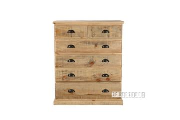 Picture of Outback 6drw Tallboy *Solid Pine