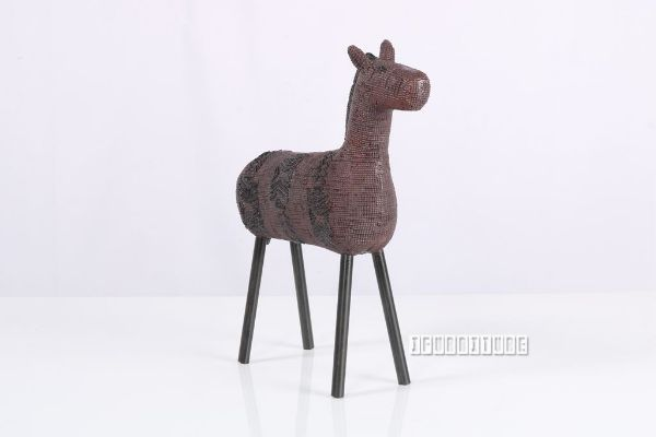 Picture of Aztecs Horse Geo *Red/Black