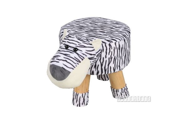 Picture of PLUSH ANIMAL FOOT STOOL - TIGER