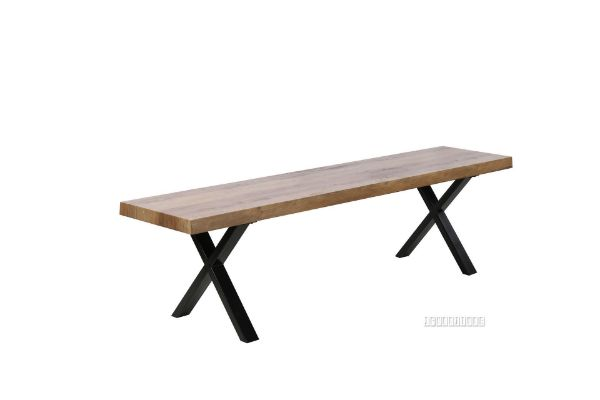 Picture of Gallop 180 Dining Bench *Live Edge