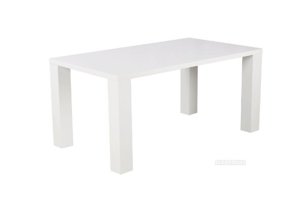Picture of HABITAT 140/160 Dining Table *White Gloss