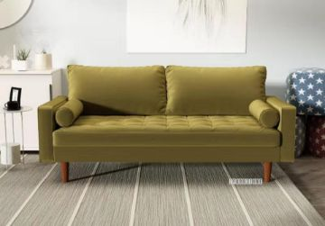 Picture of Faversham 3+2 Sofa Range * Golden Velvet