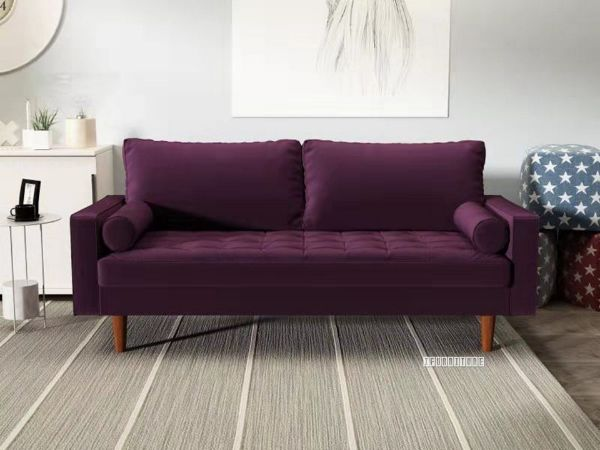 Faversham 3 2 Sofa Range Purple Velvet
