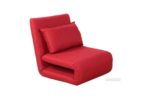 Picture of Fidel Convertible 1 seat Sofa Bed *Red