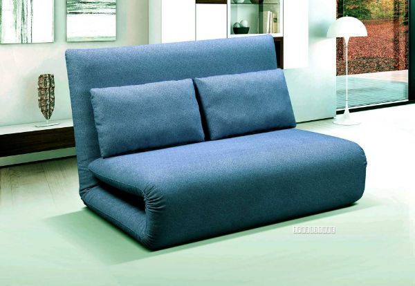 Picture of Fidel Convertible  2 seat Sofa Bed  *Blue