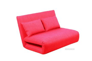 Picture of Fidel Convertible 2 seat Sofa Bed *Red