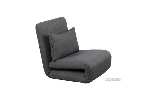 Picture of Fidel Convertible 1 Seat Sofa Bed  *Dark Grey