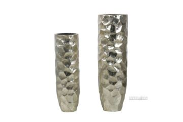 Picture of GCR61 Flower Vase Set 80/100cm *Gloss Silver