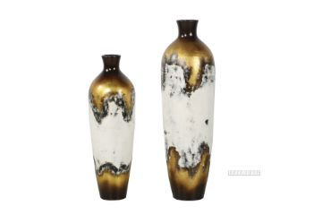 Picture of GCR75 Flower Vase Set 82/100cm *Vintage Gold