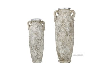 Picture of GCR109 Flower Vase Set  80/100cm *Old Grey/Silver