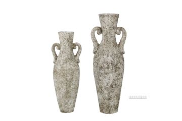 Picture of GCR110 Flower Vase Set 84/110cm *Old Grey/Silver