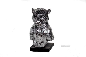 Picture of GDC45 Puma Statue *Antique Silver