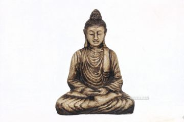 Picture of GDC48  BUDDHA Statue *Antique Cream