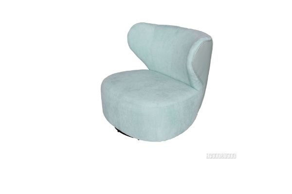 Picture of Mistral Swirl Lounge Chair *Light Blue