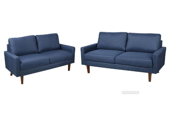 Picture of Rolf 3+2 Sofa Range *Dark Blue
