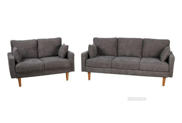 Picture of Grimsby 3+2 Sofa Range *Dark Grey