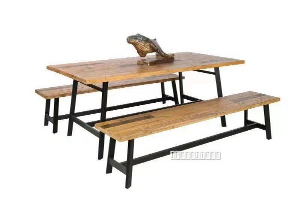 Picture of BARBADOS Reclaimed Timber 160/190/230 Dining Set