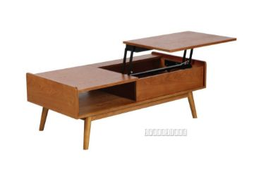Picture of Lila Mid Century Pop Up Coffee Table *Natural