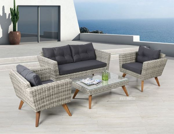 Picture of VITA 4PC Wicker Sofa Set
