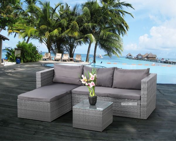 Picture of Ravello  3Pc Outdoor Sofa Set
