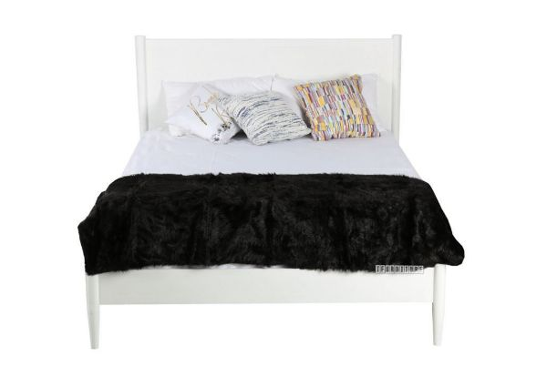 Picture of Lila Mid Century Queen Size Bed *White