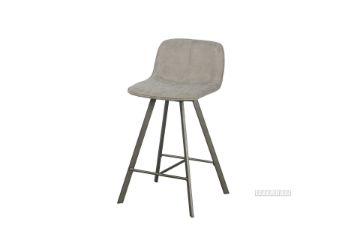 Picture of PLAZA Bar Chair *Light Grey