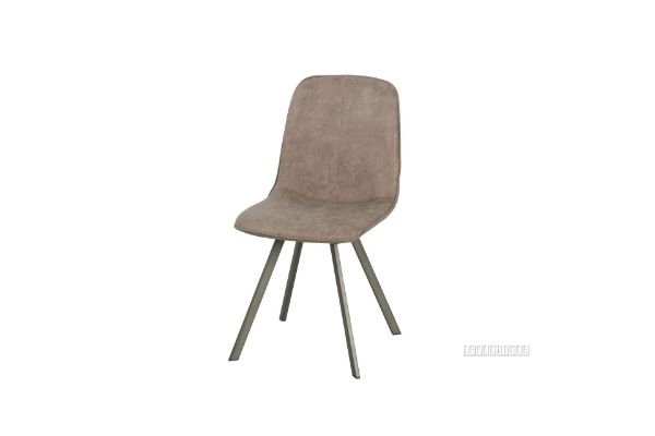 Picture of PLAZA  Vertical Dining Chair* Brown
