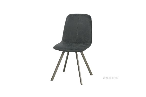 Picture of PLAZA  Vertical Dining Chair *Dark