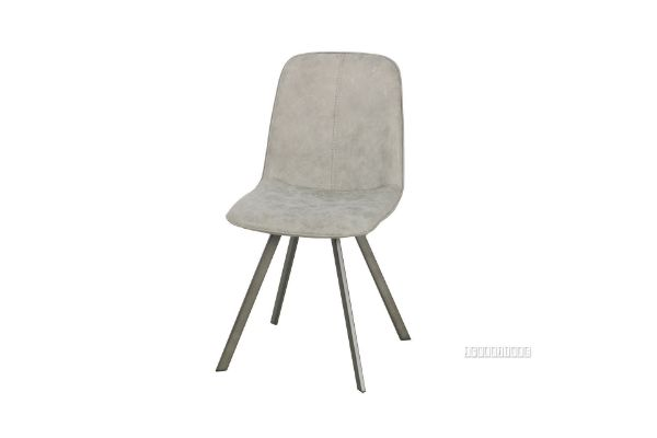 Picture of PLAZA  Vertical Dining Chair *Light Grey