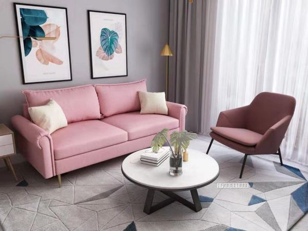 Picture of Cradle 3+2 Sofa Range * Pink