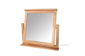 Picture of Westminster Table Mirror *Solid Oak