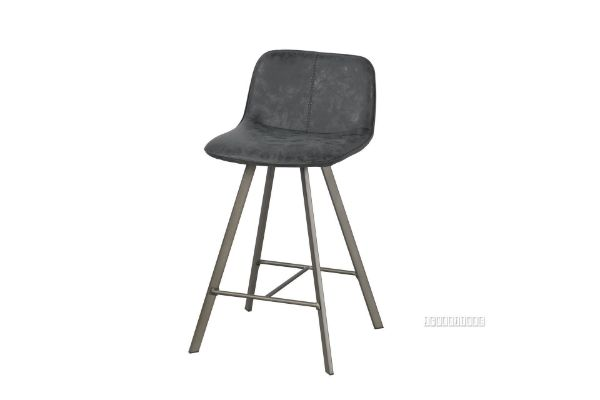Picture of PLAZA Vertical Bar Chair *Dark