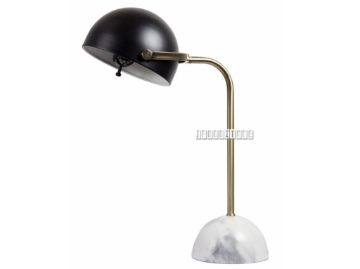 Picture of ML1730607 Marble Table Lamp *Black/White
