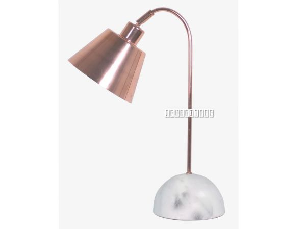 Picture of ML1730608 Marble Table Lamp *White/Cooper