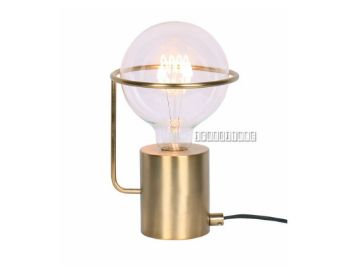 Picture of Metal Ball Table Lamp *Gold