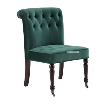 Picture of CORTINA Lounge Chair *Green Velvet