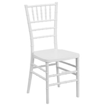 Picture of CHIAVARI Wedding Chair 2 Colours White/Cream*Solid Beech