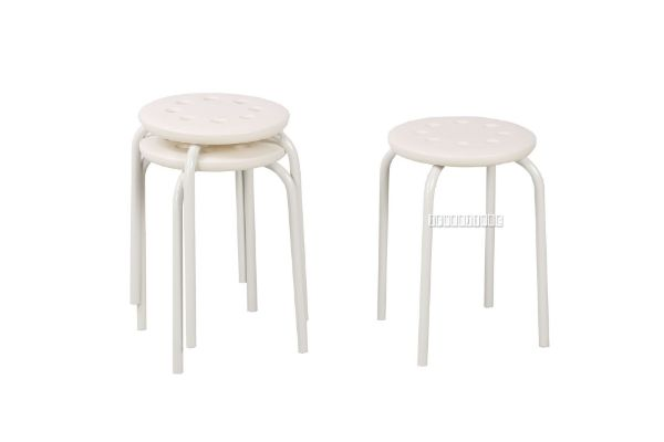 Picture of Wilson Stack-able Round Stool *Beige