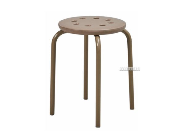 Picture of Wilson Stack-able Round Stool *Natural