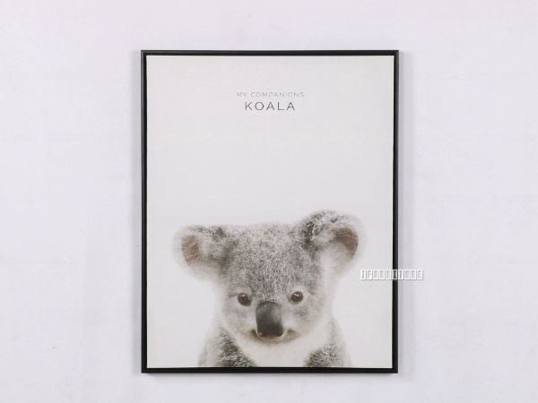 Picture of KOALA 30x40 Canvas Framed Print