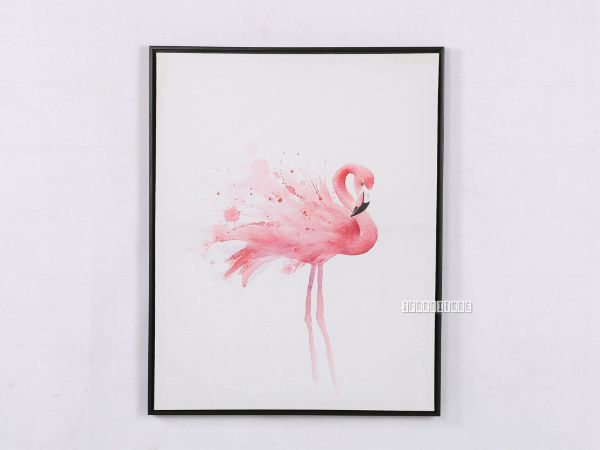 Picture of FLAMINGO 30X40 Canvas Framed Print