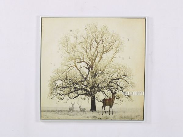 Picture of Tree 60x60 Canvas Framed Print