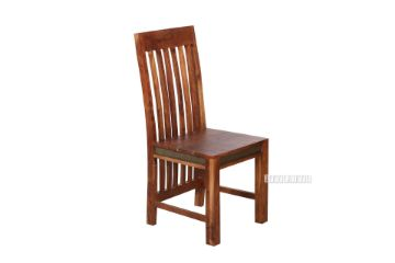 Picture of Nashville Acacia Wood Vertical Dining Chair