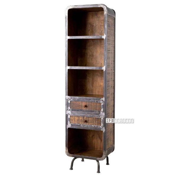 Picture of SAIGON 50 Solid Mango Wood 2-Drawer Bookshelf