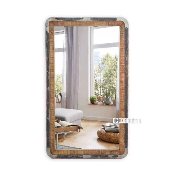 Picture of SAIGON Solid Mango Wood Wall Mirror