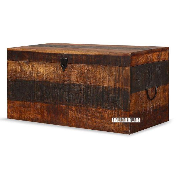Picture of Kumasi Blanket Box *Mango Wood