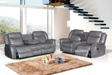 Picture of Dover Reclining Sofa Range *Air Leather
