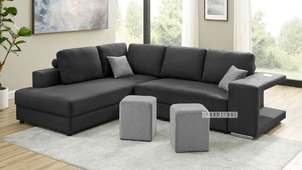 Karina Sectional Sofa Bed With Stools