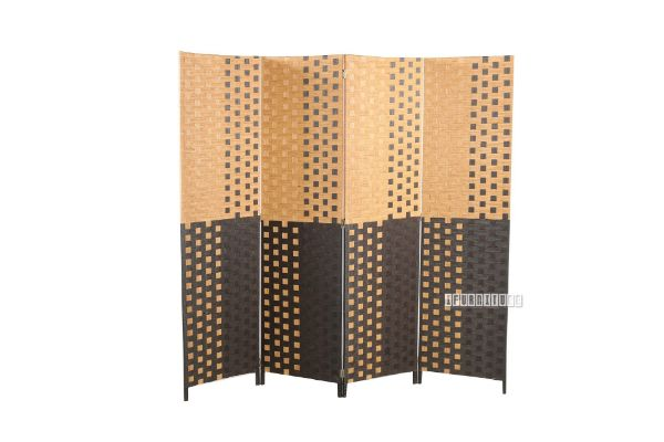 Picture of 2# Room Divider *Brown Grid